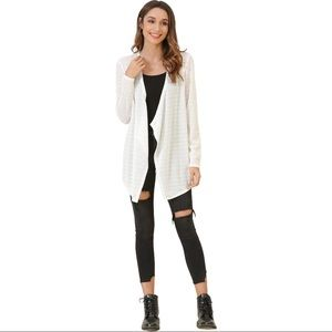 NWT - WOMEN'S LIGHTWEIGHT CARDIGAN OPEN FRONT LONG SLEEVE by messbebe